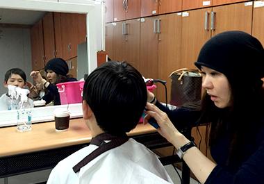 이미용 서비스 Haircutting Service 사진