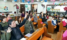 협력미자립교회 전도사역